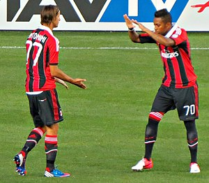 Luca Antonini - Antonini with Robinho