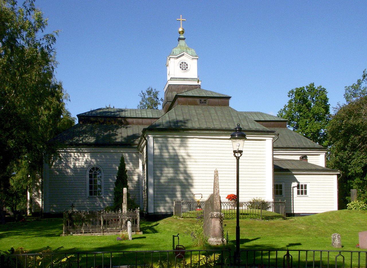 Ludvika Ulrika kyrka augusti 2013