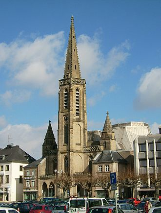 Saarlouis - The Ludwigskirche (Saint Louis Church)