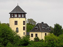 Niederkassel-Lülsdorf, Germany. Castle, exterior view from South.