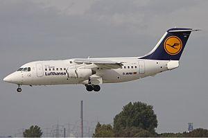 Lufthansa CityLine Avro RJ85 Eimers.jpg