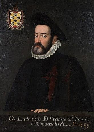 Luís de Velasco - Image: Luisde Velasco I
