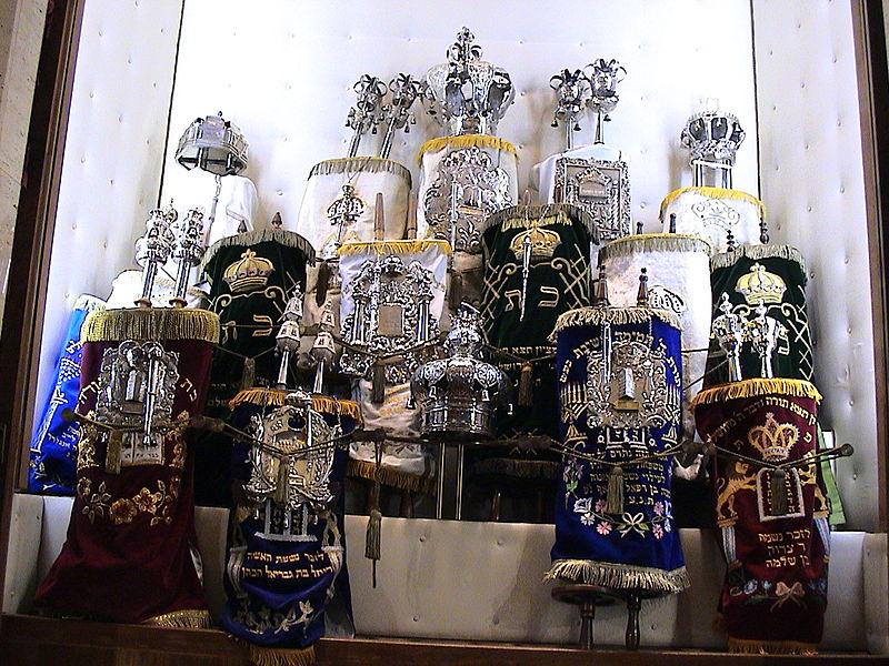 File:Luxembourg City Synagogue Torah ark 3.JPG
