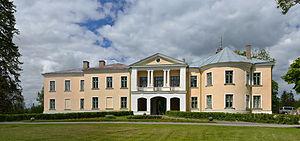 Alexander Kaulbars - Mõdriku manor in present-day Estonia, where Alexander Kaulbars was born.
