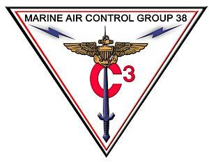 Marine Air Control Group 38 - MACG-38 insignia