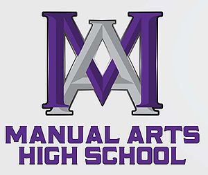 Vermont Square, Los Angeles - Manuel Arts High Logo