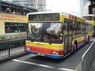 Citybus (Hong Kong) - MAN NL262 on route 11