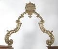 MCC-21457 Doopboog in Lodewijk XIV stijl, met driemaster in bekroning, in vier delen, uit Warder (2).tif