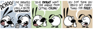"English: Mimi & Eunice, ""Viral Patent"". Catego..."