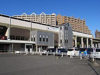 Nisshin Station (Aichi) Railway station in Nisshin, Aichi Prefecture, Japan