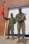 MWCS-28 Marines earn Leonidas Award, page in squadron history 150305-M-SR938-021.jpg