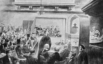 Madeleine Smith - A sketch of the trial proceedings against Smith.