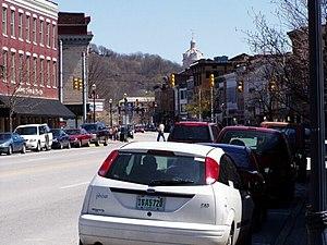 Madison Historic District (Madison, Indiana) - Image: Madison IN Main Street