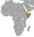 Madoqua saltiana map.png