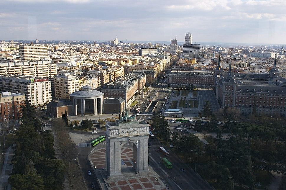Madrid - Plaza de Moncloa - 20050220