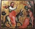 Maestro bertram di minden, entrata a gerusalemme, amburgo 1380-90 ca..JPG