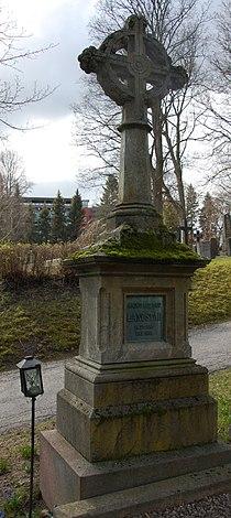 Magnus Brostrup Landstad, gravminne på Vår Frelsers gravlund, Oslo (cropped).jpg