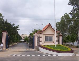 Chaitanya Bharathi Institute of Technology - Main entrance of Chaitanya Bharathi Institute of Technology