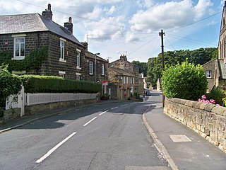 Menston Village and civil parish in West Yorkshire, England