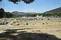 Main sacred area in Epidaurus from the direction of original approach, 091136.jpg