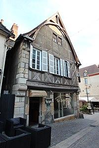 Maison 25 Grande-Rue à Montluçon en juillet 2014 - 1.jpg