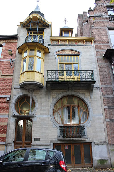 File maison art nouveau a tournai jpg wikimedia commons for Nouvelle deco maison