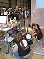 Maker Faire 2008 Wikimedia geeks.JPG