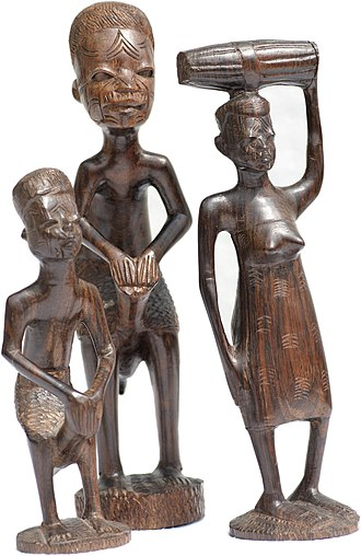 Makonde people - Wood carvings