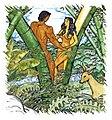 Malakas and Maganda Emerging from Bamboo BambooMan.jpg