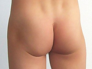 Men generally have much less pronounced hips, ...