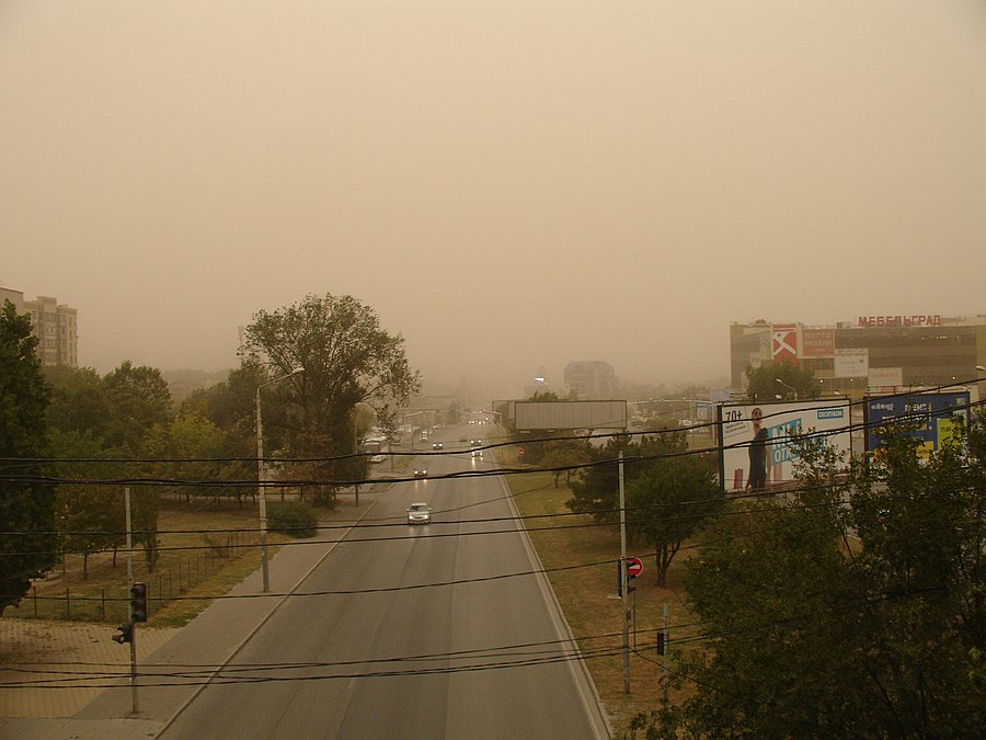 Malinovskogo Rostov-on-Don dust storm.jpg