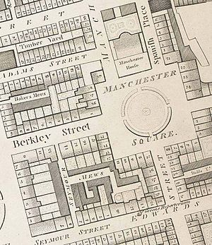 Manchester Square - Manchester Square in the 1790s.