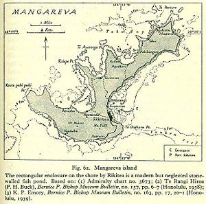 Mangareva - Image: Mangareva Island