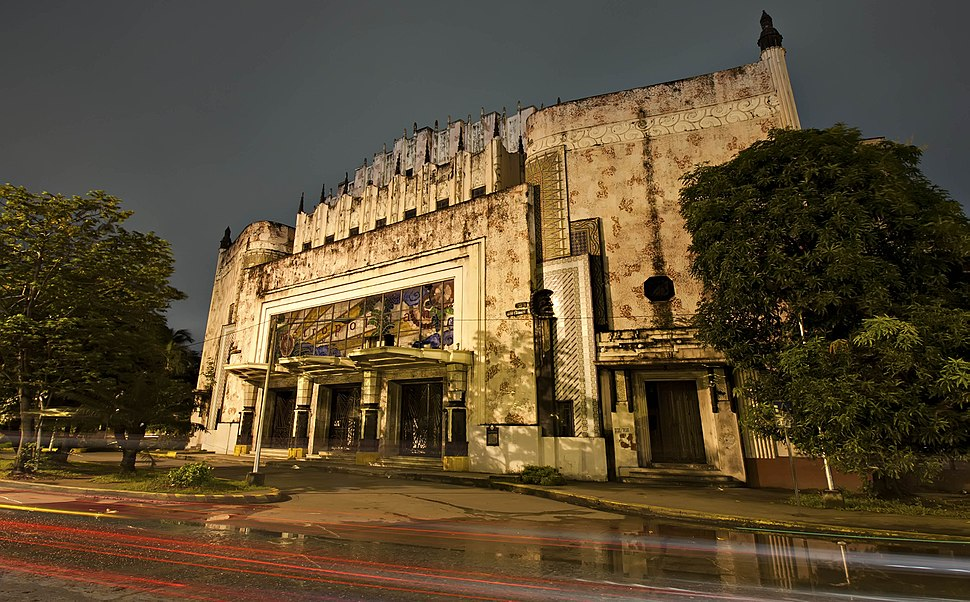 Manila Metropolitan Theater or commonly called the Met, an abandoned art deco building in the heart of Manila