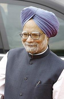 Portrait of Manmohan Singh