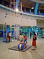 Manoeuvring Floating Ball - Dynamotion Hall - Science City - Kolkata 2006-06-21 04552.JPG