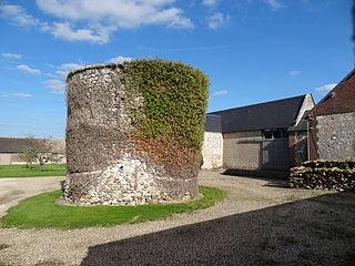 Gauciel Commune in Normandy, France