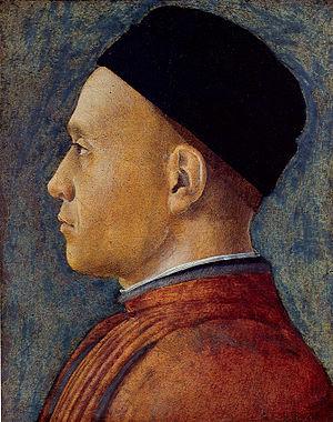 Portrait of a Man (Mantegna) - Image: Mantegna ritratto d'uomo washington