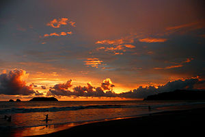 Manuel Antonio National Park - Sunset