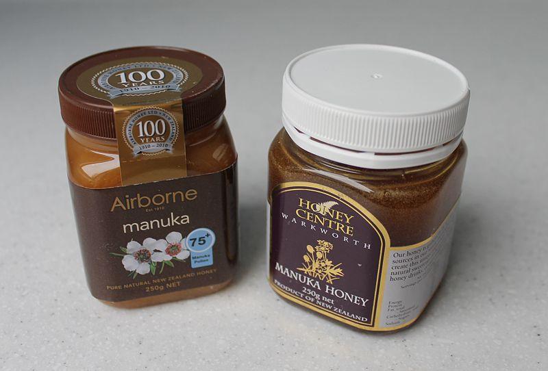 File:Manuka Honey Examples.jpg