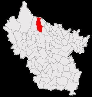 Mânzălești Commune in Buzău, Romania