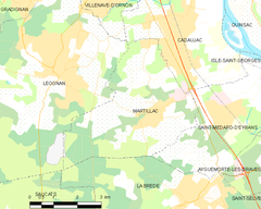 Map commune FR insee code 33274.png