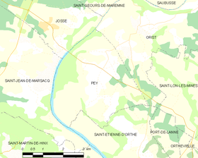 Map commune FR insee code 40222.png