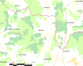 Map commune FR insee code 71020.png