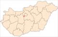 Map of Érd.png