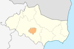Map of Dobrich municipality (Dobrich Province).png