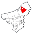 Map of Washington Township, Northampton County, Pennsylvania Highlighted.png