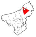 Map of Washington Township, Northampton County, Pennsylvania Highlighted.png