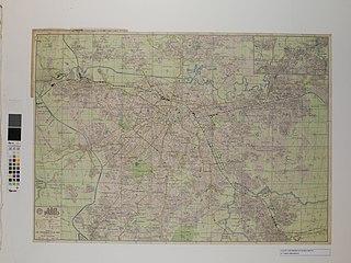 Mapa Falk da Cidade de São Paulo