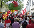 March for Welsh Independence arranged by AUOB Cymru First national march; Wales, Europe 25.jpg